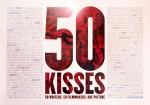 The 50 Kisses poster displays the names of the 50 screenwriters, the film makers, their crew and cast.